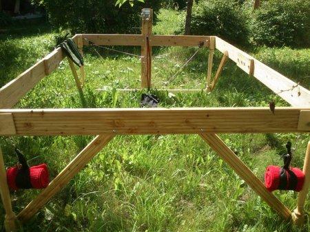 Новые фото и видео. Правило деревянное - обновлённая, усиленная конструкция.