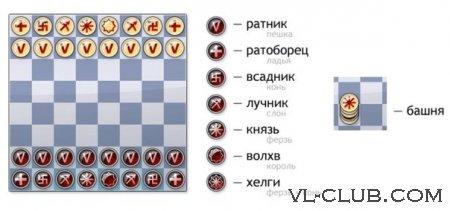 Таврели: славянские шахматы